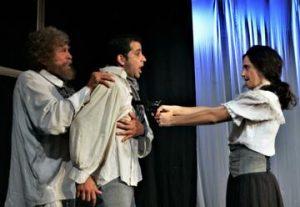 תיאטרון קרוב - חמישה אקדחים - מסע בין סיפורים בישראל