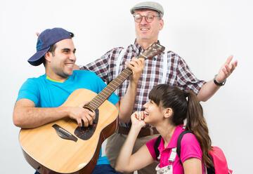 הצגת ילדים מוסיקלית - שירים בכל מיני צבעים בישראל