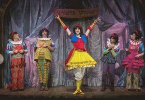 פסטיבל חיפה הבינלאומי להצגות ילדים 2020 - שבעת הגמדים ושלגיה בישראל