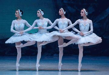 תיאטרון הבלט הלאומי של רוסיה בניהולו של ויאצ'סלב גורדייב - אגם הברבורים בישראל