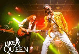 להקת Like Queen  במופע לייב בישראל