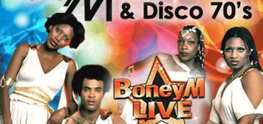 להקת KarniBand במחווה Boney M & Disco 70s בישראל