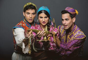 תיאטרון אורנה פורת לילדים ולנוער - עלי באבא וארבעים השודדים בישראל
