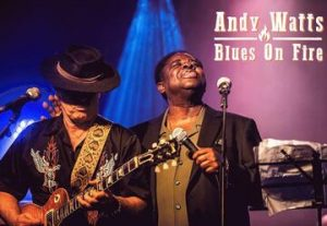 Andy Watts & Blues on Fire בישראל